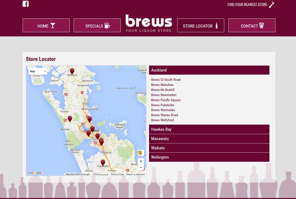 Brews Liquor Store Digital Partners
