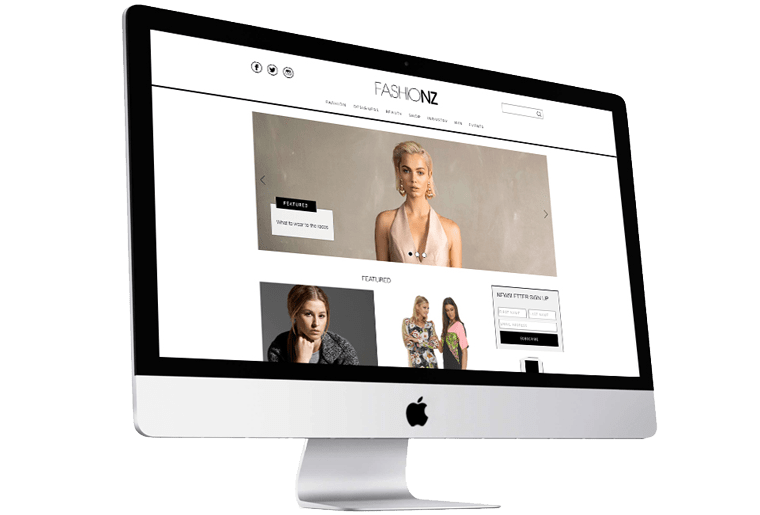 Fresh CMS Development for FashioNZ | FutureLab NZ
