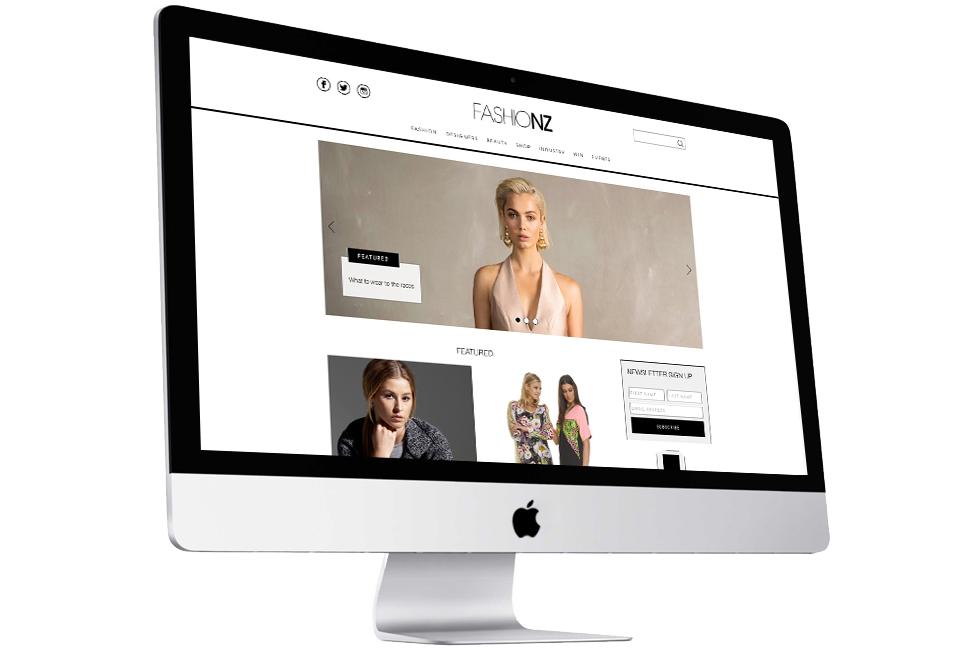 Fresh CMS Development for FashioNZ | FutureLab NZ